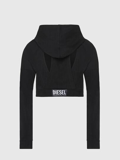 Diesel - UFLT-ANGHEL, Negro - Sudaderas - Image 2