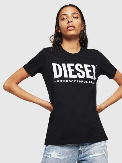 Diesel - T-SILY-WX, Negro - Camisetas - Image 1