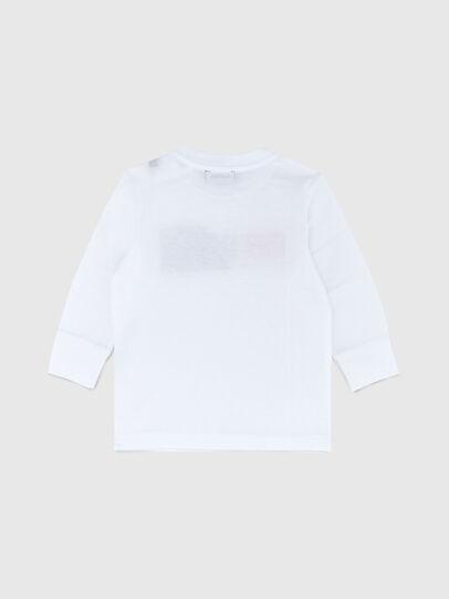 Diesel - TDIEGOCUTYB ML, Blanco - Camisetas y Tops - Image 2