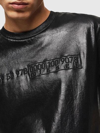 Diesel - T-JUST-J1, Negro - Camisetas - Image 5