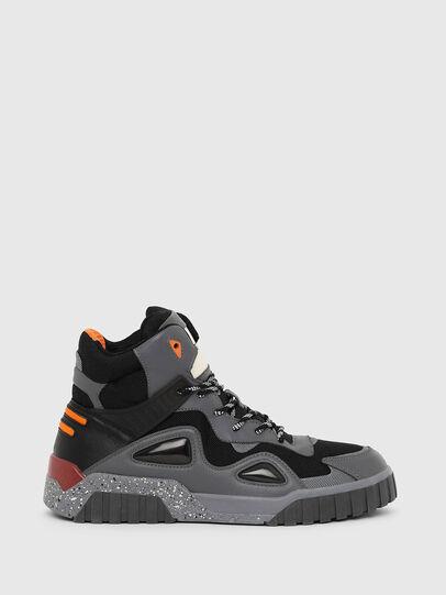 Diesel - S-RUA SP, Gris oscuro - Sneakers - Image 1