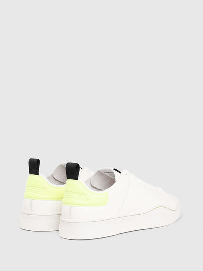 Diesel - S-CLEVER LS, Blanco/Amarillo - Sneakers - Image 3