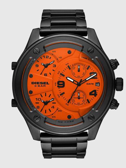Diesel - DZ7432, Negro/Naranja - Relojes - Image 1
