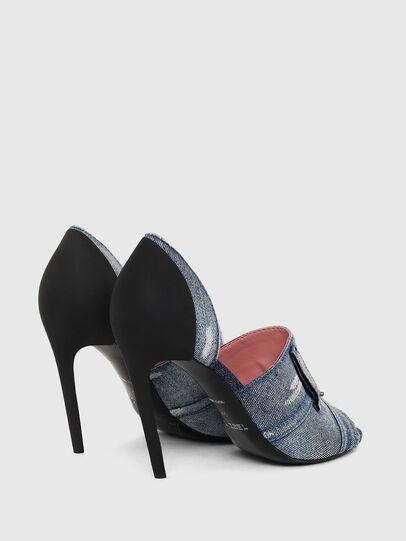 Diesel - SA-SLANTY OTD, Blue Jeans - Sandalias - Image 3
