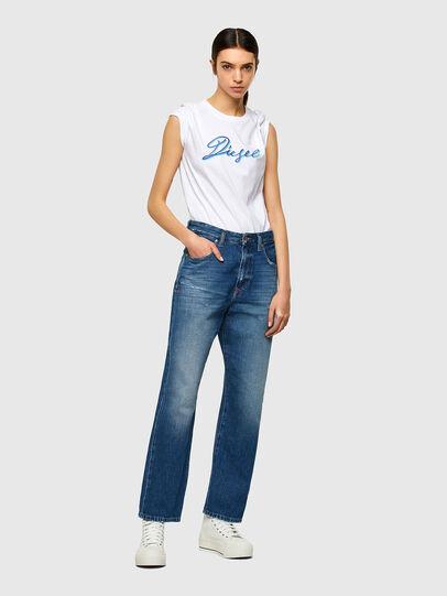 Diesel - T-SILY-K10, Blanco - Camisetas - Image 4