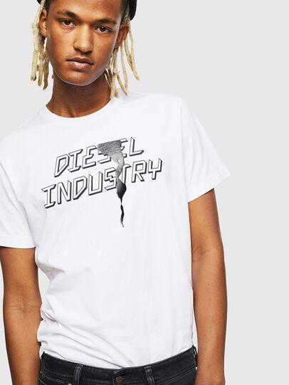 Diesel - T-DIEGO-J25, Blanco - Camisetas - Image 4