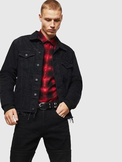 Diesel - S-MARLENE-C, Rojo/Negro - Camisas - Image 5