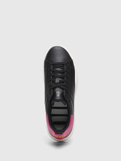 Diesel - S-CLEVER LOW LACE W, Negro/Rosa - Sneakers - Image 5