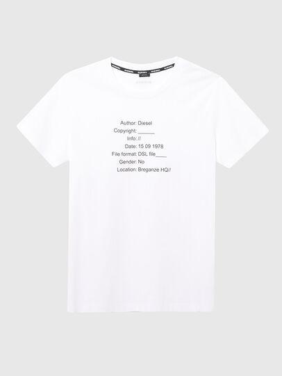 Diesel - UFTEE-ELODIE, Blanco - Camisetas - Image 1