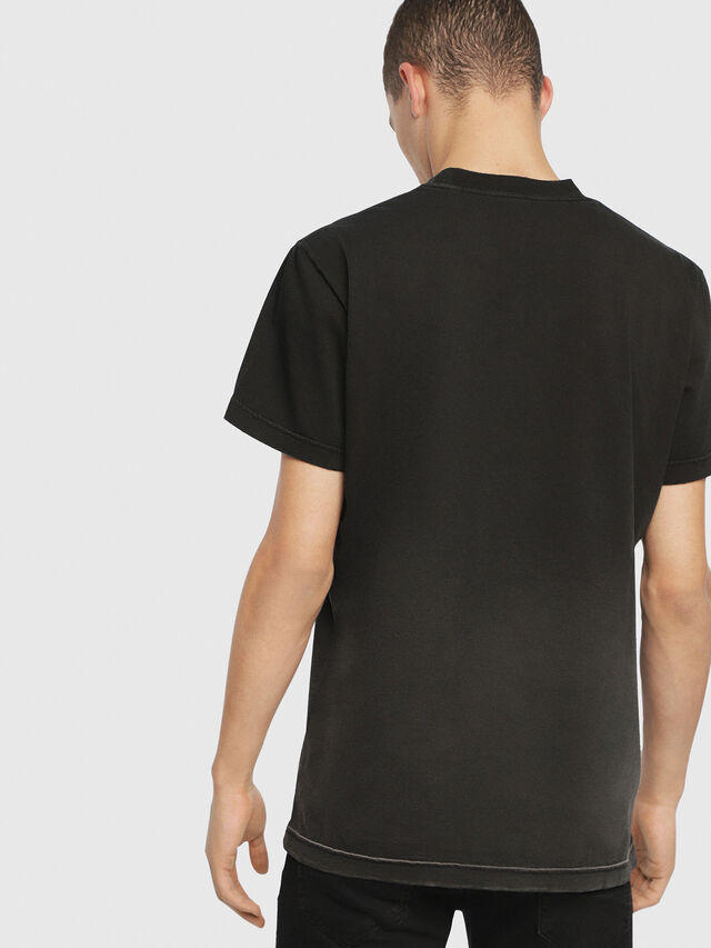 Diesel - SE-DIEGO, Negro - Camisetas - Image 3