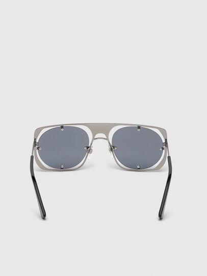 Diesel - DL0305, Gris/Negro - Gafas de sol - Image 4