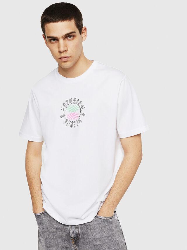 Diesel - T-JUST-Y19, Blanco - Camisetas - Image 1