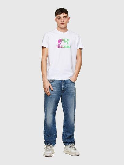 Diesel - T-DIEGOS-E30, Blanco - Camisetas - Image 4