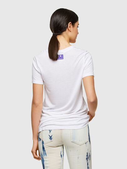 Diesel - T-SILY-A8, Blanco - Camisetas - Image 2