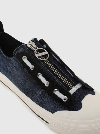 Diesel - S-ASTICO LZIP W, Azul - Sneakers - Image 4