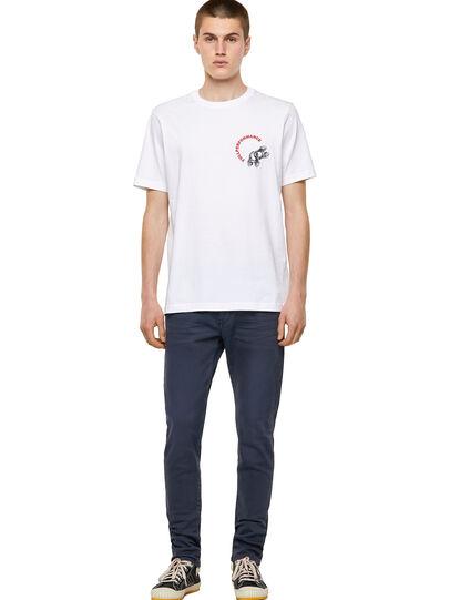 Diesel - T-JUST-B55, Blanco - Camisetas - Image 4