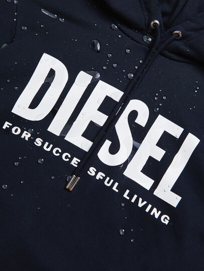 Diesel - S-GIR-HOOD-DIVISION-, Azul Oscuro - Sudaderas - Image 6