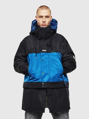W-HELBERT, Negro/Azul - Chaquetones de invierno