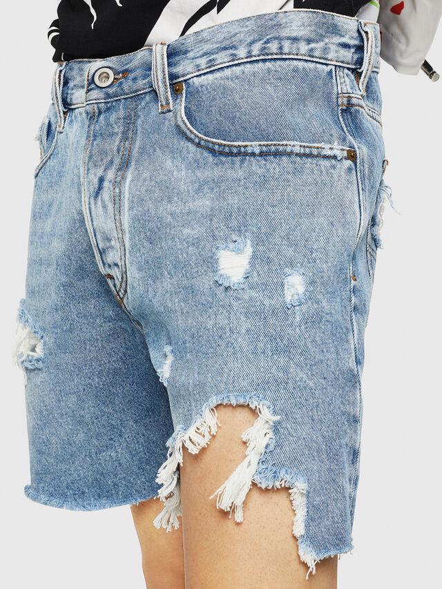 Diesel - D-KIRM, Blue Jeans - Shorts - Image 3