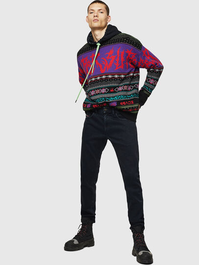 Diesel - Thommer 084NK, Negro/Gris oscuro - Vaqueros - Image 6