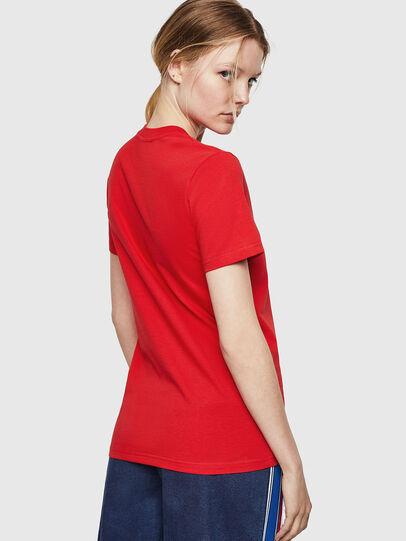 Diesel - T-SILY-ZE, Rojo Fuego - Camisetas - Image 2