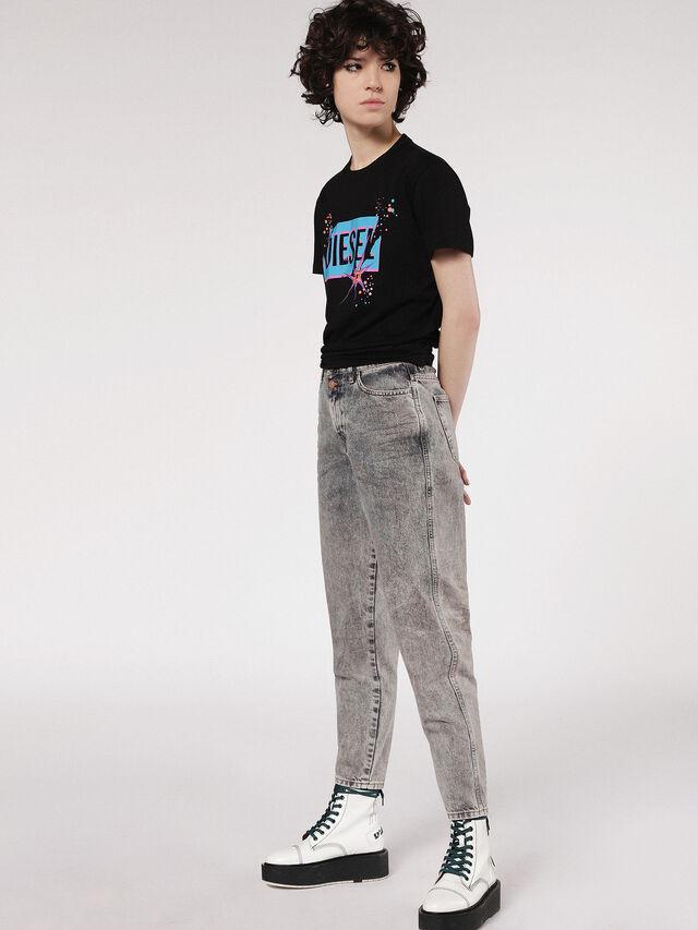 Diesel - T-EXPLO, Negro - Camisetas - Image 4