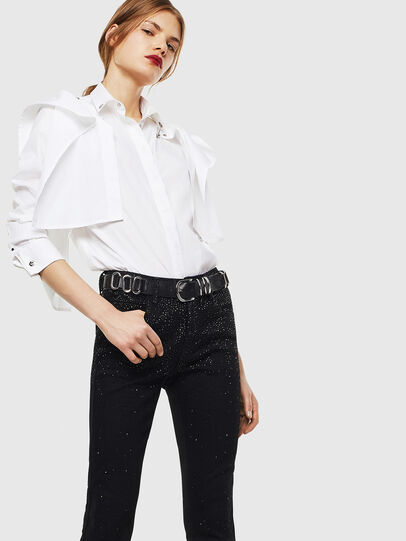Diesel - C-RAILY-SHAPED, Blanco - Camisas - Image 4