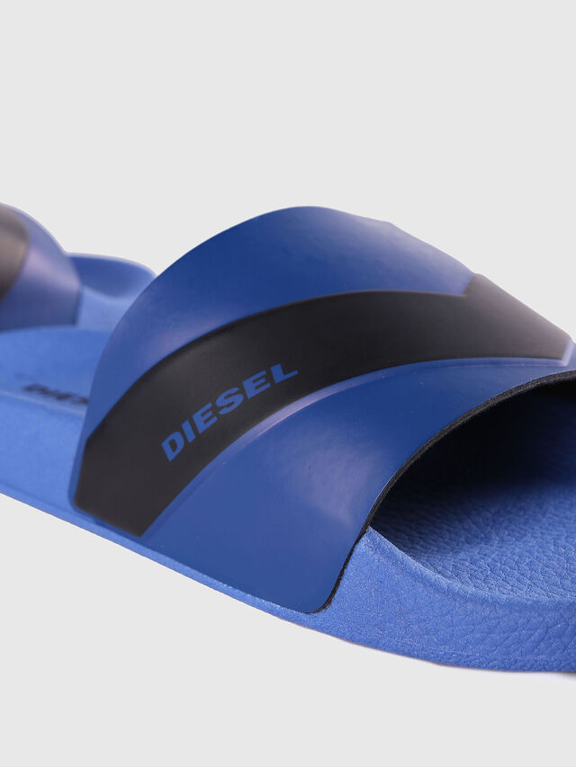 Diesel - SA-MARAL, Azul - Chanclas - Image 4
