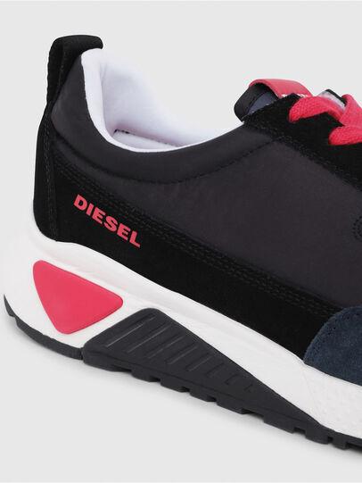 Diesel - S-KB LOW LACE, Negro/ Rojo - Sneakers - Image 4