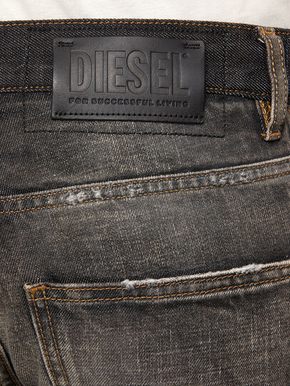 Diesel - D-Kras 009EA, Negro/Gris oscuro - Vaqueros - Image 5