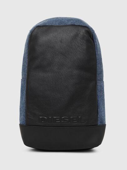 Diesel - F-SUSE MONO, Azul/Negro - Mochilas - Image 1