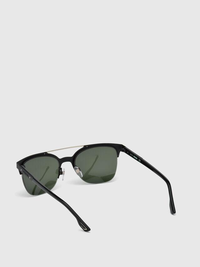 Diesel - DL0215, Negro - Gafas de sol - Image 4