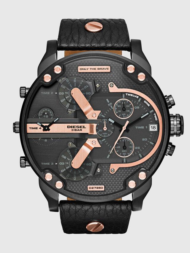 Diesel - DZ7350 MR DADDY 2.0, Negro - Relojes - Image 1