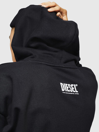 Diesel - S-ALBY-B6, Negro - Sudaderas - Image 4