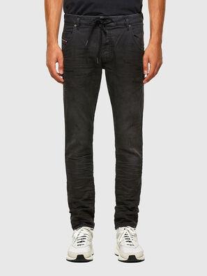 Krooley JoggJeans 069QL, Negro/Gris oscuro - Vaqueros
