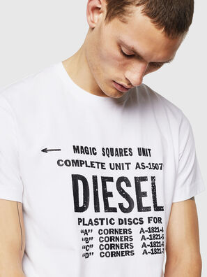 T-DIEGO-B6, Blanco - Camisetas