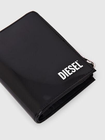 Diesel - L-12 ZIP, Negro - Carteras Con Cremallera - Image 5