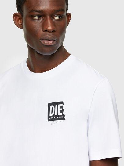 Diesel - T-JUST-LAB, Blanco - Camisetas - Image 3