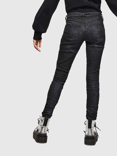 Diesel - Gracey JoggJeans 069GP, Negro/Gris oscuro - Vaqueros - Image 2