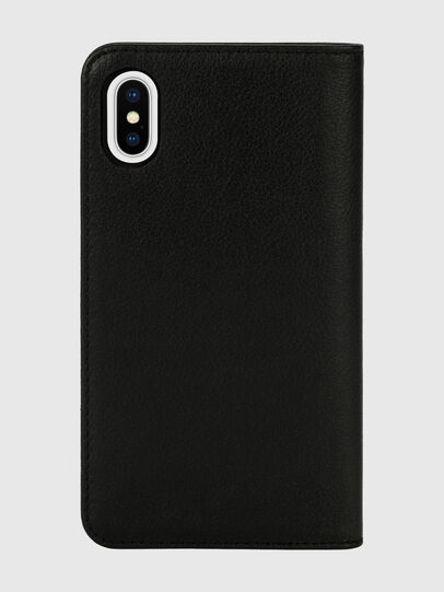 Diesel - DIESEL 2-IN-1 FOLIO CASE FOR IPHONE XS & IPHONE X, Negro/Blanco - Fundas tipo libro - Image 2