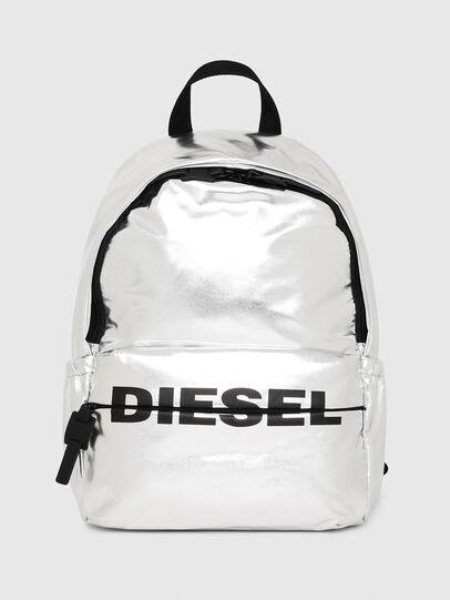 Diesel - F-BOLD BACK II, Plata - Mochilas - Image 1