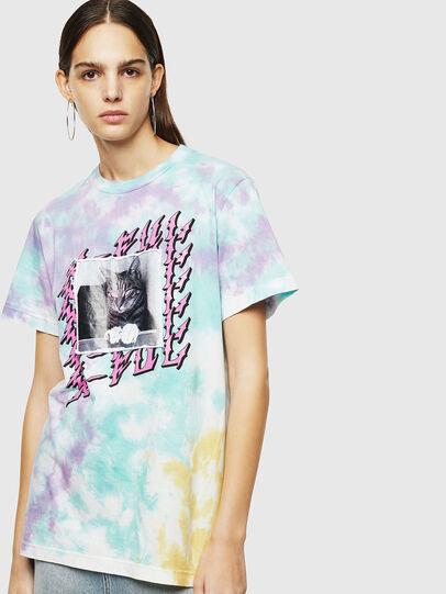 Diesel - T-DARIA-M, Multicolor - Camisetas - Image 1