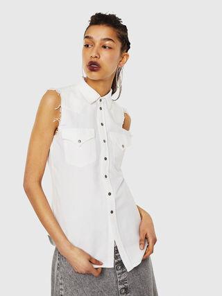 DE-LOLLY,  - Camisas de Denim