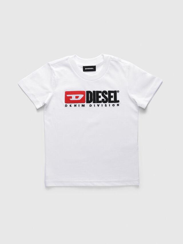 Diesel - TJUSTDIVISIONB-R, Blanco - Camisetas y Tops - Image 1