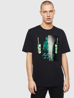 T-JUST-T30, Negro - Camisetas