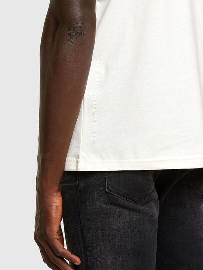Diesel - T-DORYMO-A1, Blanco - Camisetas - Image 3