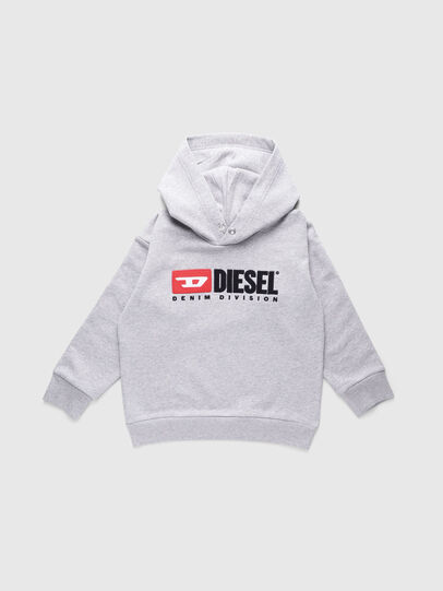 Diesel - SDIVISION OVER, Gris - Sudaderas - Image 1