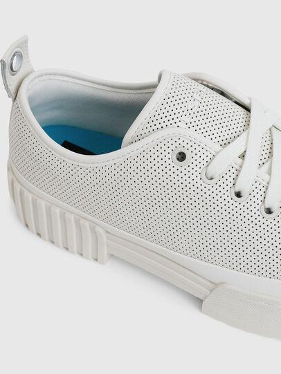 Diesel - S-MERLEY LC, Blanco - Sneakers - Image 4