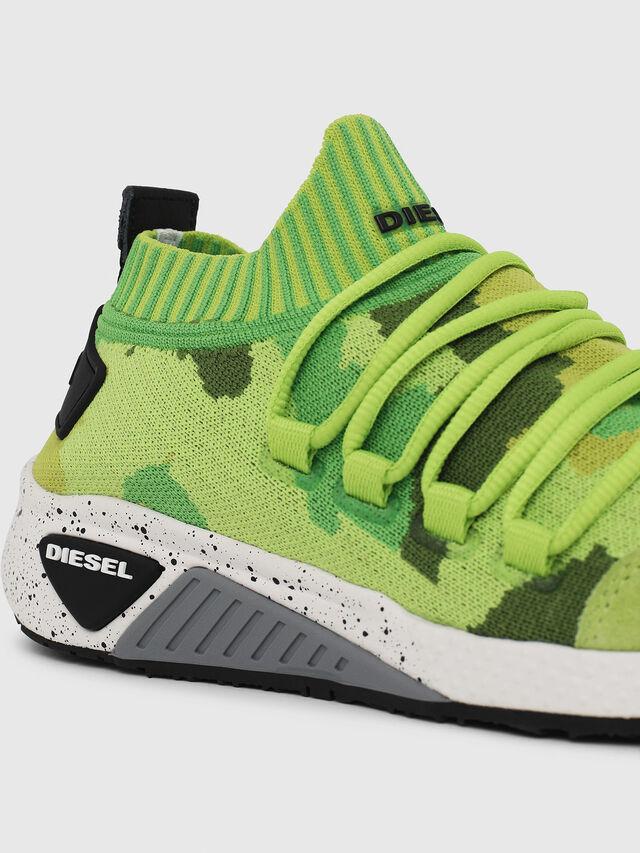 Diesel - S-KB SL W, Verde Fluo - Sneakers - Image 4