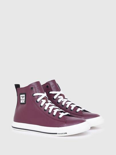 Diesel - S-ASTICO MID CUT, Violeta Oscuro - Sneakers - Image 2